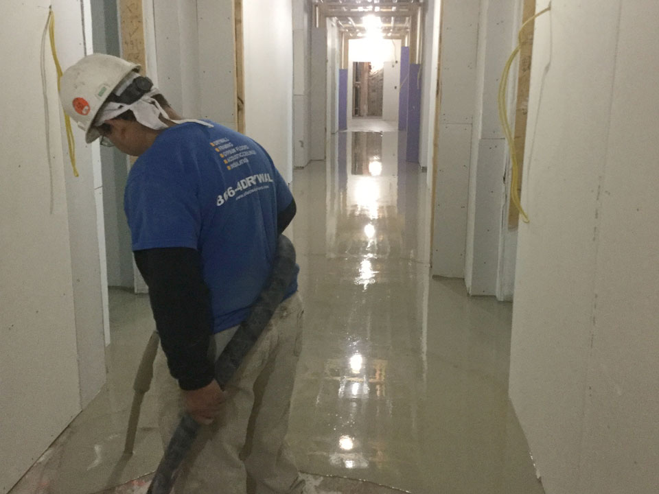 Allstate Interiors Cementitious Poured Flooring